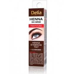 Delia, henna do brwi, 4.0 brown, 2ml