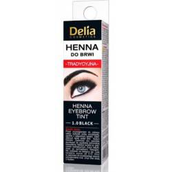 Delia Henna do Brwi 1.0 Czarna 2ml