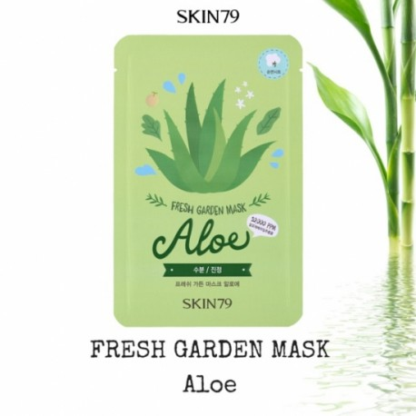 Skin79 Fresh Garden Mask, maska do twarzy, Aloe, 23 g