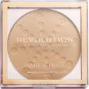 Makeup Revolution Puder do Twarzy Bake&Blot Beige