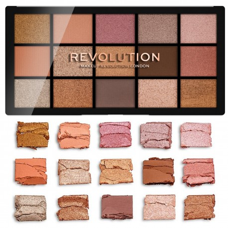 Makeup Revolution Paleta 15 Cieni do Powiek Reloaded Fundamental