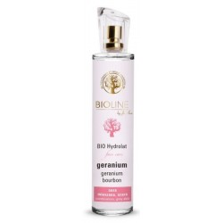 Bioline, hydrolat z geranium do twarzy, 75ml