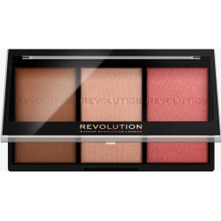 Makeup Revolution Ultra Brightening Ultra Fair C01, paleta do konturowania, 11g