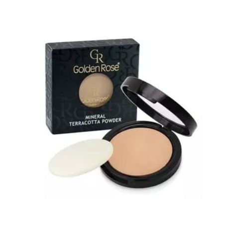 Golden Rose P-TMP Mineral Terracotta Powder, puder mineralny 04