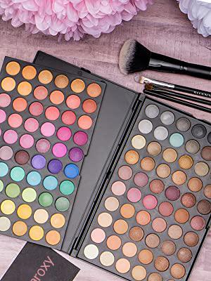 Paleta cieni największa 120 kolorów