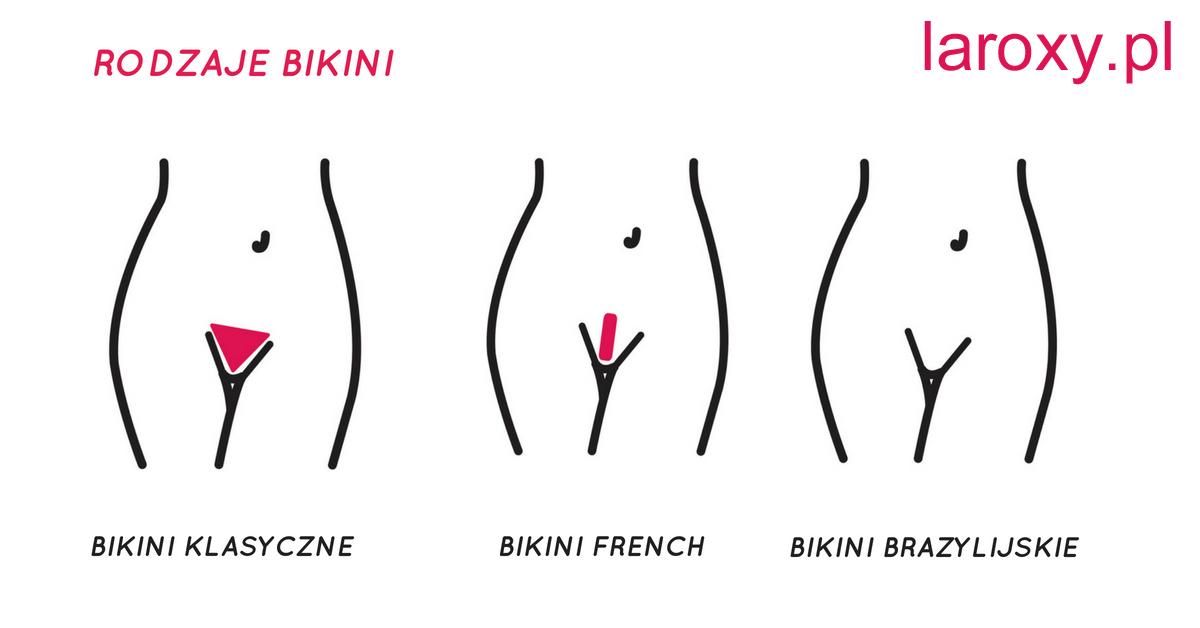 Rodzaje fryzur bikini cipki